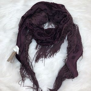 Francesca's Purple Scarf